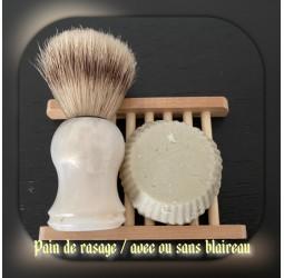 Pain de rasage - Avec ou...